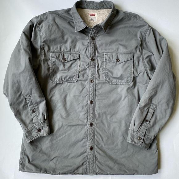Levi's Sherpa Lined Denim Shirt Sz XXL / XXG